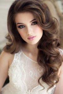 abiye saç modellleri