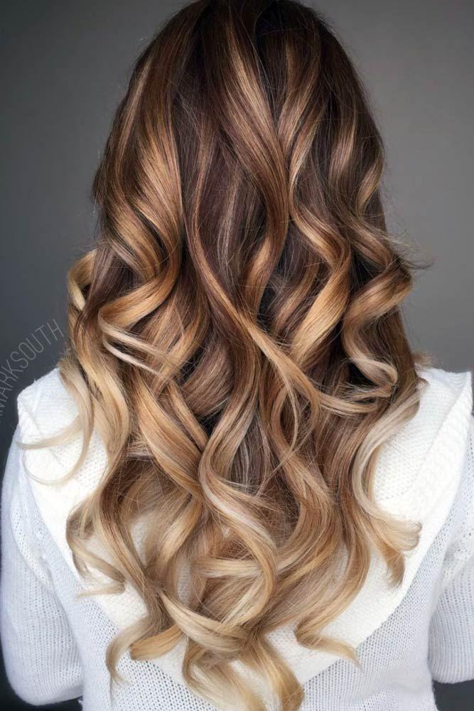 Balyaj saç renkleri