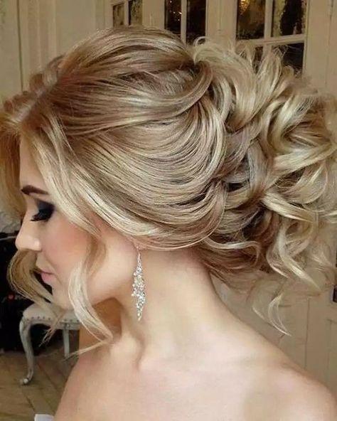Topuz saç stilleri