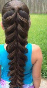 kız çocuklarına saç
