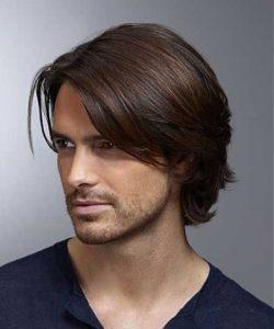 düz erkek saçları